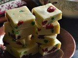 Cherry White Chocolate Fudge – Christmas Recipes