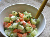 Cucumber Carrot Salad – Easy Summer Salad Recipe