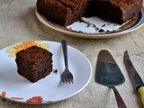 Eggless Chocolate Cake- With Fortune Rice Bran Oil