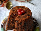Eggless Christmas Pudding