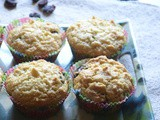 Eggless Cranberry Muffins Recipe