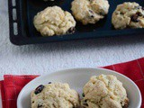 Eggless Cranberry Scones
