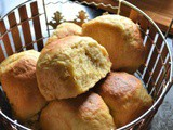 Eggless Hawaiian Sweet Rolls – #BreadBakers