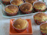 Eggless Tutti Fruity Cupcakes Recipe