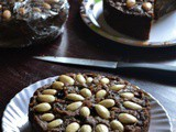 Eggless Whole Wheat Christmas Cake Without Oven – #BakingWithoutOvenSeries