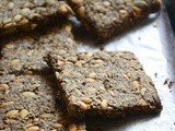 Five Seed Crackers – Easy Paleo Snack Recipe