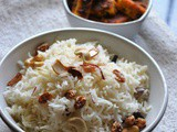 Ghee Bhat / Mishti Pulao – West Bengal – Rice Varieties Across India