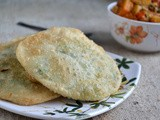 Green Peas Kachori and Dum Aloo