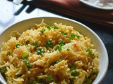 Kharzi Puloa – Arunachal Pradesh Cheese and Spring Onion Pulao Recipe