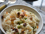 Meetha Pulao – Assamese Sweet Pulao Recipe