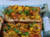 Paneer Open Sandwich Recipe