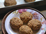 Peanut Butter Oats Cookies Recipe