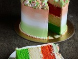Tri Coloured Cream Cake – Independence Day Special Video