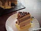 Two ingredient ice cream recipe and Three layered Ice cream Cake – Video Recipe