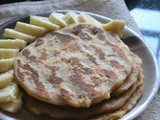 V – Vastad Roti – Konkani Banana Bread – a-z Flat Breads Around The World