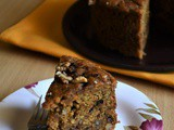Whole Wheat Eggless Banana Walnut Cake – #bakingwithoutovenseries