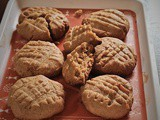 Whole Wheat Peanut Butter Cookies Recipe – #BakingWithoutOvenSeries