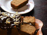 Whole Wheat Pound Cake in Pan With Chocolate Frosting – #BakingWithoutOvenSeries