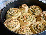 Whole Wheat Spicy Rolls – #BreadBakers