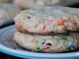 {Guest Post} The Big Fat Baker: Confetti Cookies