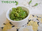 Thecha  - green chilly dip