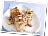 Caramel Apple Bread Pudding…Healthified and Veganized