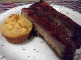 Recipe - Gluten Free Pork Ribs & Corn Bread Muffins