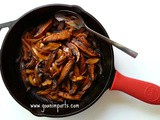 Spicy Sauteed Portebello Mushrooms