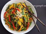 Thai Curry Glazed Green Beans