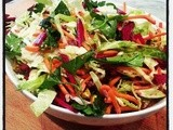 Cabbage, Beet and Carrot Slaw