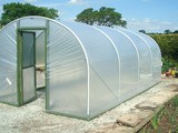 Commercial Polytunnels for Increasing Productivity in the Food Industry