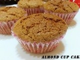 Almond Cup Cake