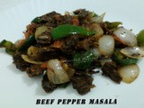 Beef Pepper Masala
