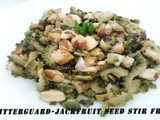 Bitter guard- Jack fruit Seed Stir fry