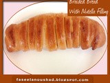 Braided Bread With Nutella Filling