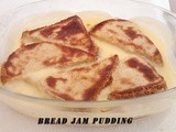 Bread Jam Pudding