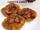Capsicum Carrot Roll