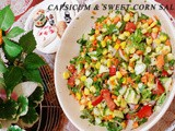 Capsicum & Sweet corn Salad