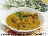 Chicken Curry Without Coconut
