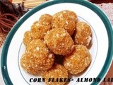 Corn Flakes-Almond Laddu
