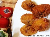 Dates-Apple Cutlet