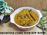 Drumstick Curry With Raw Mango