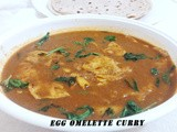 Egg Omelette Curry