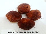 Egg Stuffed Bread Balls