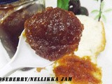Gooseberry/Nellikka Jam (a Healthy Spread)