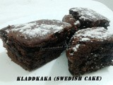 Kladdkaka (Swedish Cake)
