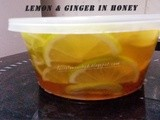 Lemon and Ginger in Honey (Cold Buster)
