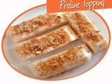 Milk Pudding With Praline Topping