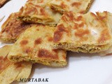 Murtabak (Meat Stuffed Roti)