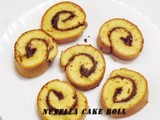 Nutella Cake Roll